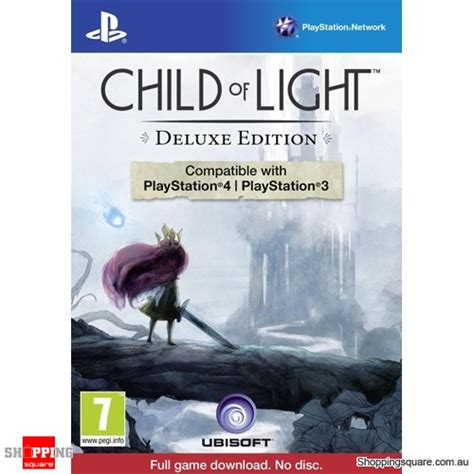 child of light deluxe edition ps3 ps4 playstation