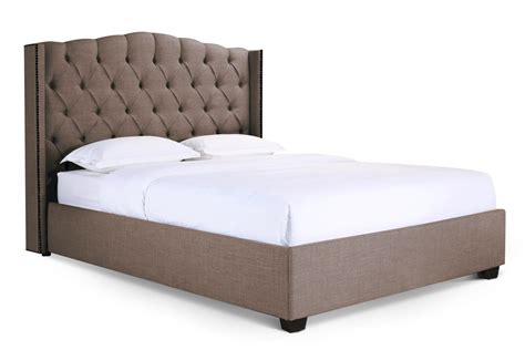 newport upholstered bed frame