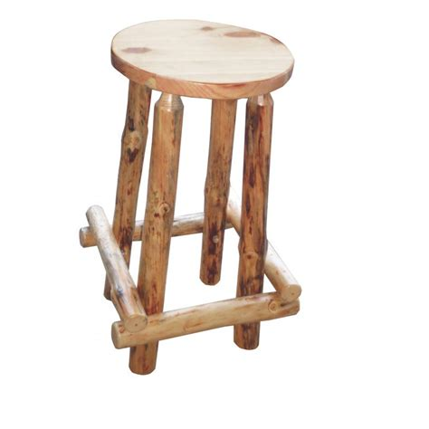 bar stools traditional traditional log bar stool amish crafted furniture