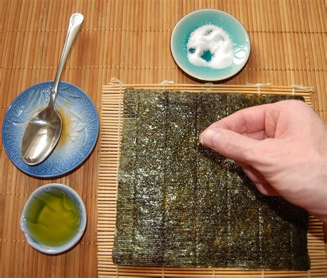 How To Make Seaweed Paper - seasoned seaweed health diet