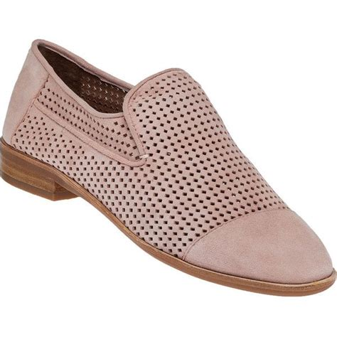 jeffrey cbell barkley light pink punched suede loafer