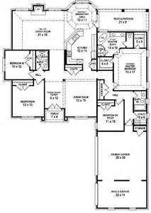 654254 4 bedroom 3 bath house plan house plans floor