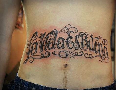 tattoo lettering wallpaper collection of 25 lettering tattoo on belly