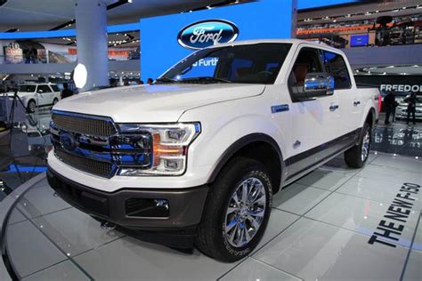 2018 ford f150 apps 2018 ford f 150 detroit auto show autotrader