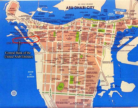 printable abu dhabi road map maps of abu dhabi united arab emirates free printable maps