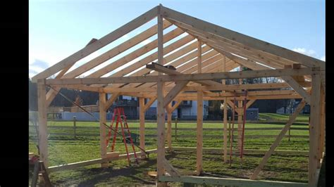 horse barn build youtube