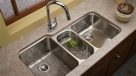 Best Faucet Kitchen 15 Functional Double Basin Kitchen Sink Home Design Lover