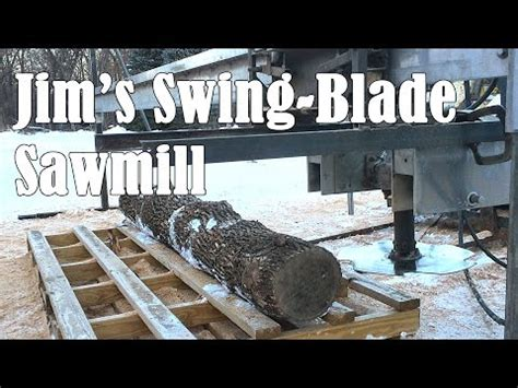 homemade swing blade sawmill homemade saw mill how to save money and do it yourself