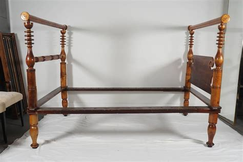 rope beds early american single rope bed or daybed at 1stdibs