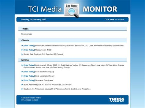 media monitoring report sle monitoring report template 28 images 12 compliance