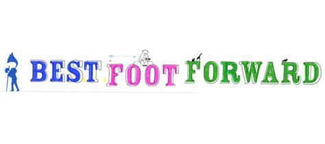 best foot forward best foot forward