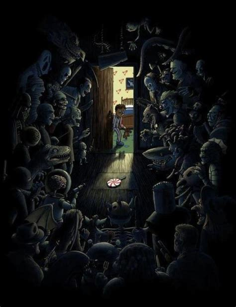Closet Monsters by Closets Are Always Scary Awesome