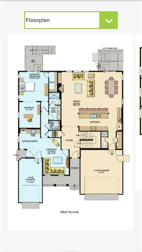 lennar nextgen homes floor plans 25 best next gen homes ideas on pinterest