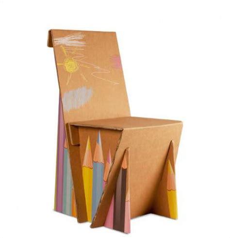 sedie fai da te idee arredamento sedia in cartone fai da te