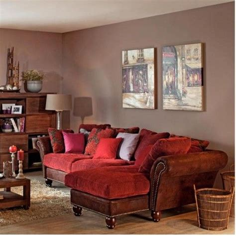 wall color with red couch paint colors colors and red couches on pinterest
