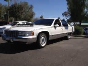 Cadillac Fleetwood Brougham 1994 1994 Cadillac Fleetwood Brougham Sedan 4 Door 5 7l