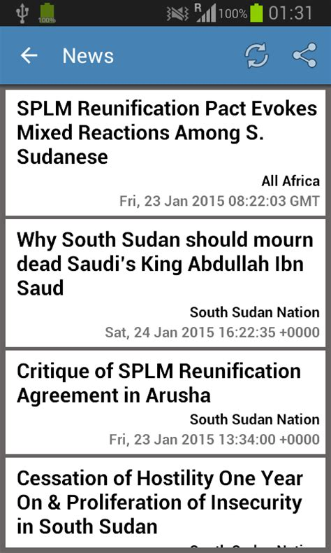 south sudan news today south sudan newspapers android apps on google play