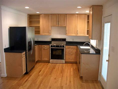 Kitchen With Wood Cabinets Cheap Cabinets For Kitchens Shopping Tips