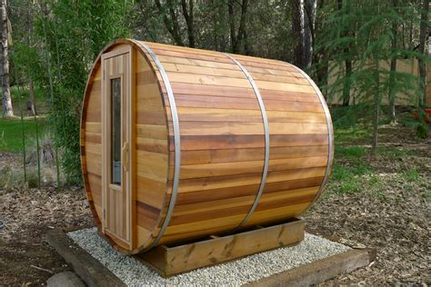 barrel sauna kit outdoor barrel sauna room 7 x 7