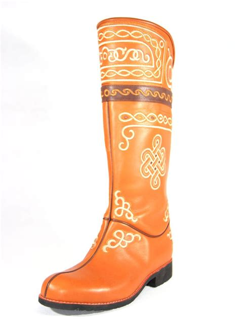 19 best images about mongolian boots on