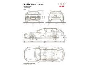 Audi Dimensions 2006 Audi A6 Allroad Quattro 3 2 Fsi Automatic
