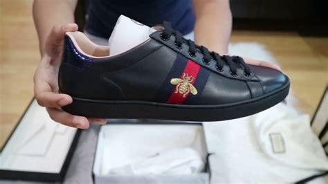 New New New Gucci 8 unboxing gucci ace embroidered sneakers