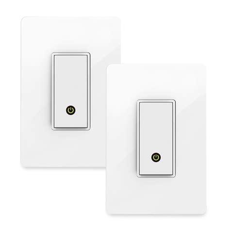 wemo wifi light switch wemo wi fi smart light switch 2 pack