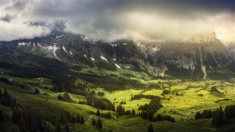 wallpaper mountains landscape switzerland hd nature