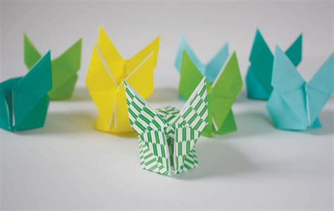 new year origami rabbit 20 happy new year crafts tip junkie