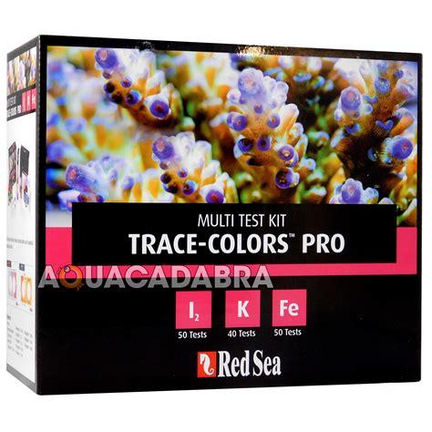 Sea Trace Colors D Bioactive Elements Supplement Coral Color D sea trace colours pro test kit coral colors iodine iron potassium marine 7290100772119 ebay