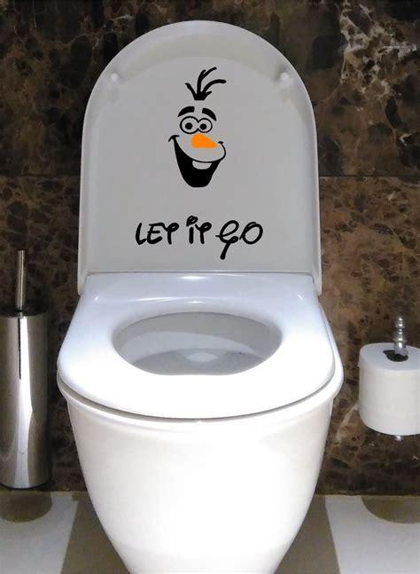 olaf frozen disney toilet seat decal vinyl decal sticker children ebay
