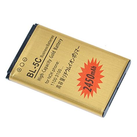 Battery Nokia Bl 5c 1100 1600 1800 1650 2300 2310 2600 3660 3650 6630 2450mah bl 5c high capacity gold 2430mah bl 5c business battery with overheat and overcharge