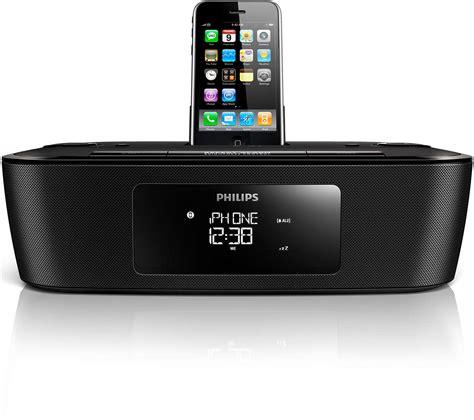 Iphone Ipod clock radio for ipod iphone dcb242 05 philips