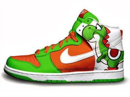 What Color Pairs Well With Green by Nike Dunks Custom Design Sneakers Nike Dunks Super Mario