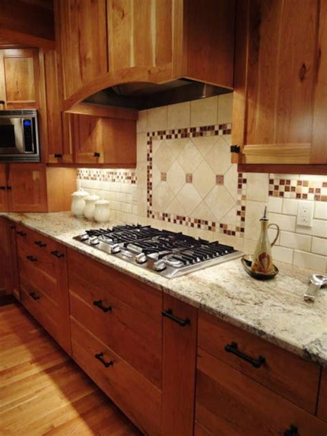 Kitchen Tile Backsplash Ideas Traditional Kitchen