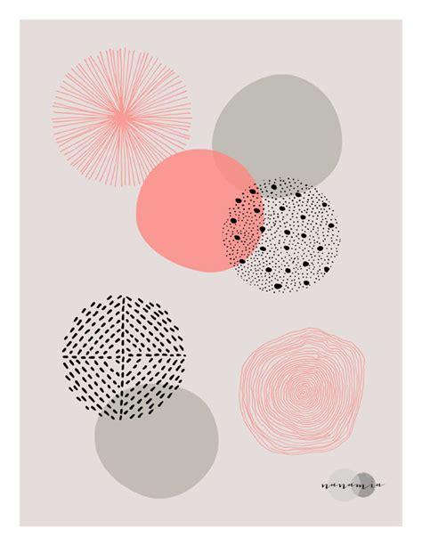 design pattern site du zero art mural imprim 233 g 233 om 233 trique corail impression par