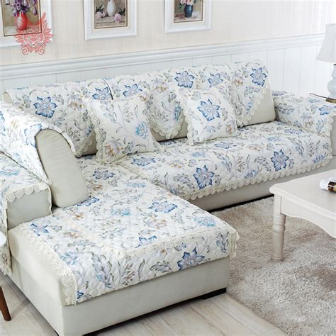 How To Make Slipcover For Sectional Sofa by Furniture Pretty Slipcovered Sectional Sofa For Comfy