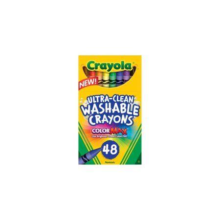 Crayola Crayons 48 crayola 48 count ultra clean washable crayons walmart