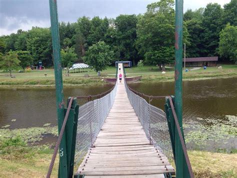 swinging bridge croswell mi black river picture of croswell swinging bridge