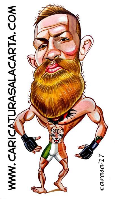 imágenes de wolverine en caricatura caricaturas de deportistas famosos conor mcgregor luchador