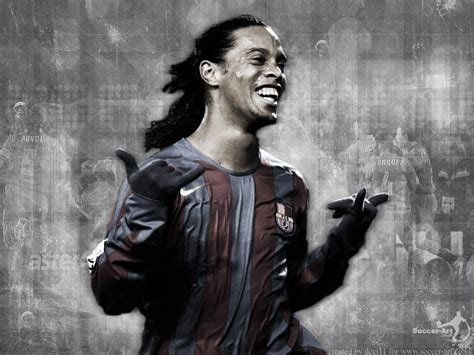 White And Black Wallpaper by Fondos Gratis Fondos Deportes Ronaldinho