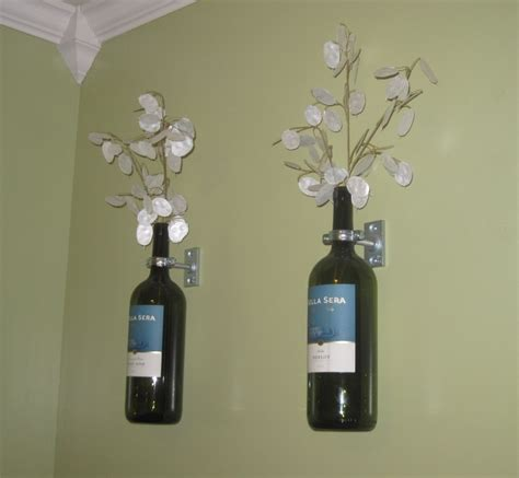 wine bottle decor home decor