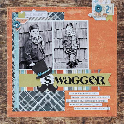 Lyn Swagger ghahary pieces of me scrapbook cards today swagger