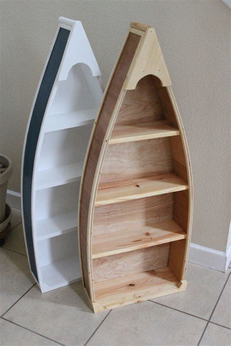 4 foot row boat bookshelf bookcase shelf from