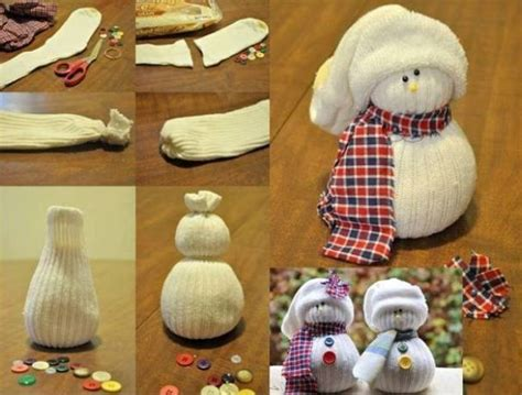 sock snowman craft with rice pin by diane oberkrom on crafts