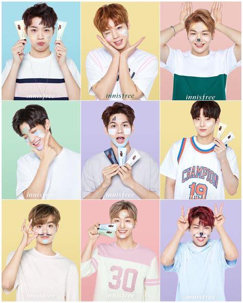Harga Masker Innisfree Wanna One 5 brand kecantikan yang berkolaborasi dengan idol korea