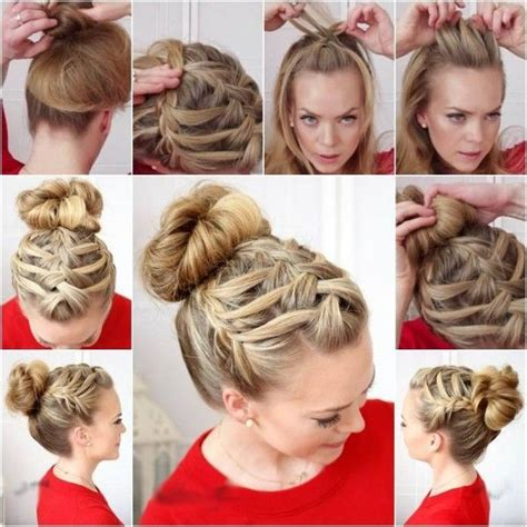 step by step braid short hair 8 best step by step prom bridal hairstyles images on