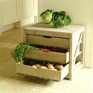 Wooden vegetable racks ideas for storage