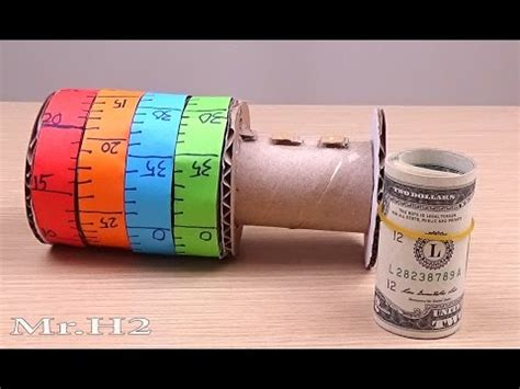 How To Make Paper Lock - cardboard cryptex safe funnycat tv