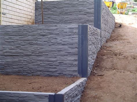 Cement Sleepers Adelaide by Best 25 Concrete Sleeper Retaining Walls Ideas On